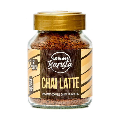 Beanies Coffee Barista Chai Latte Flavour 50g - Sweet Victory Products Ltd