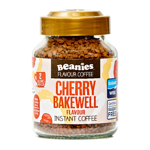 beanies coffee cherry bakewell flavour