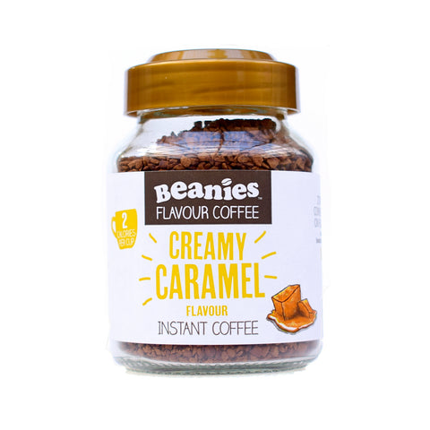 Beanies Flavored Creamy Caramel 50g - Sweet Victory Products Ltd