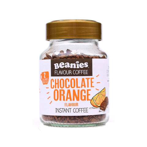 Beanies Flavored Coffee Chocolate Orange 50g - Sweet Victory Products Ltd