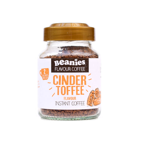 Beanies Flavored Coffee Cinder Toffee 50g - Sweet Victory Products Ltd