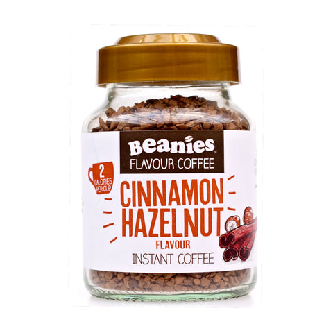 Beanies Flavored Coffee Cinnamon Hazelnut 50g - Sweet Victory Products Ltd