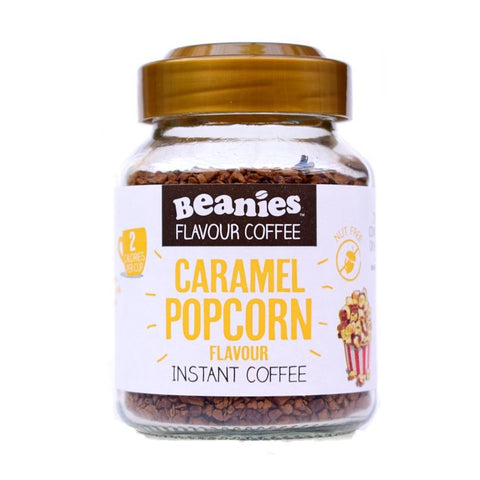 Beanies Coffee Caramel Popcorn Flavour 50g - Sweet Victory Products Ltd