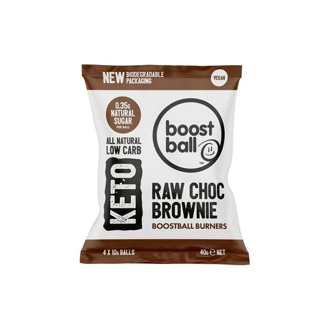 Boost Ball Keto Chocolate Brownie Ball Burners 40g