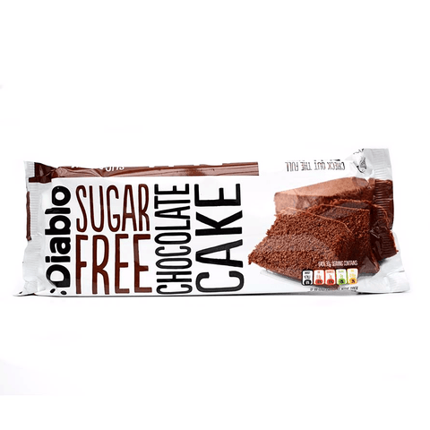 Diablo Sugar Free Chocolate Cake 230g - Sweet Victory Products Ltd