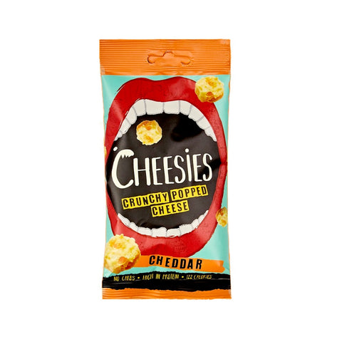 Cheesies Crunchy Popped Cheese Snack - Cheaddar 20g - Sweet Victory Products Ltd