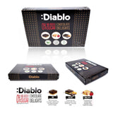 Diablo No Added Sugar 12 Chocolate Delights Box 115g - Sweet Victory Products Ltd