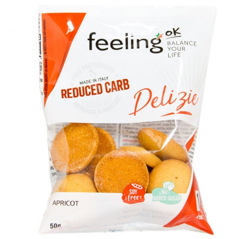 feeling ok low carb apricot delizie no added suger cookie biscuits