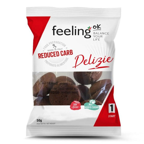 Feeling ok Low Carb Cocoa Soft Biscuits 50g
