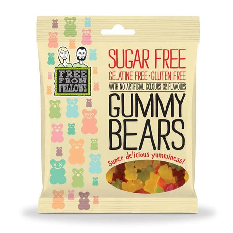 Free From Fellows Sugar Free Vegan Gummy Bears Sweets 100g - Sweet Victory Products Ltd