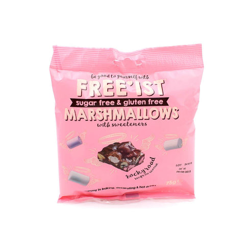 Free'ist Sugar Free and Gluten Free Marshmallows 75g - Sweet Victory Products Ltd