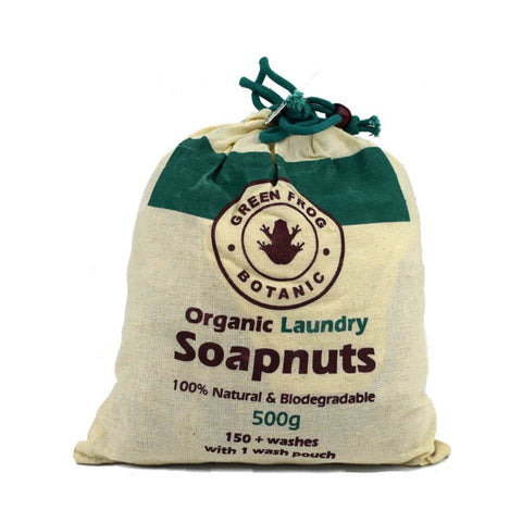 Green Frog Botanic Organic Laundry Soapnuts 500g - Sweet Victory Products Ltd