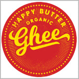 Happy Butter Organic Grass Fed Ghee 150g - Sweet Victory Products Ltd