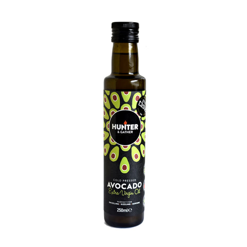 Hunter & Gather Cold Pressed Extra Virgin Avocado Oil 250ml - Sweet Victory Products Ltd