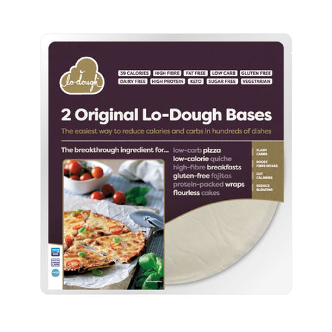 2 Original Lo-Dough Bases - Bread and Pastry Alternative