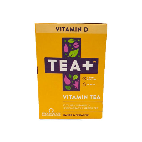 Tea+ Vitamin Infused Tea With Vitabiotics - Vitamin D - Sweet Victory Products Ltd