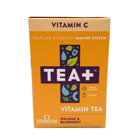 Tea+ Vitamin Infused Tea With Vitabiotics - Vitamin C - Sweet Victory Products Ltd