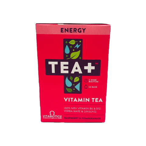 Tea+ Vitamin Infused Tea With Vitabiotics - Energy - Sweet Victory Products Ltd
