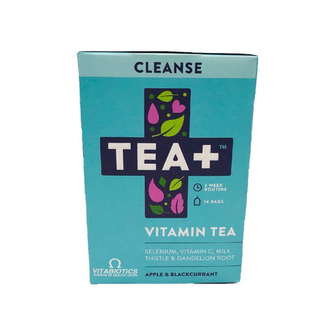 Tea+ Vitamin Infused Tea With Vitabiotics - Cleanse - Sweet Victory Products Ltd