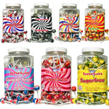 Stantons Sugar Free Liquorice & Mint Wrapped Lollipops x5
