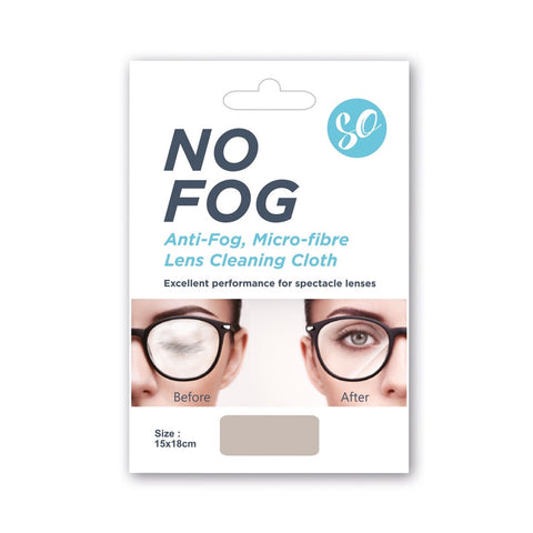 So Bondeye Anti-Fog Lens Cleaning Micro-Fibre Cloth 12hr