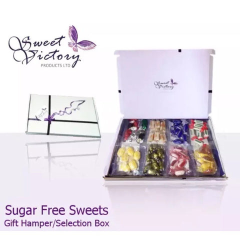 8x 50g Sugar Free Sweets Selection Gift Box - Sweet Victory Products Ltd