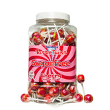 Stantons Sugar Free Cherry Wrapped Lollipops x5 - Sweet Victory Products Ltd