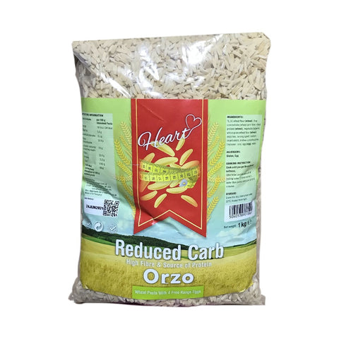 Heart Cafe Low Carb Orzo Pasta Rice Substitute 1kg