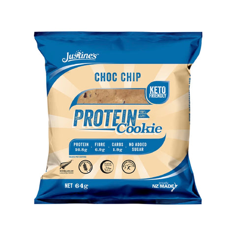 justine keto protein cookie no added sugar high protein