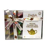 English Tea Shop Organic Classic Tea Collection Prism Teas 12x24g - Sweet Victory Products Ltd