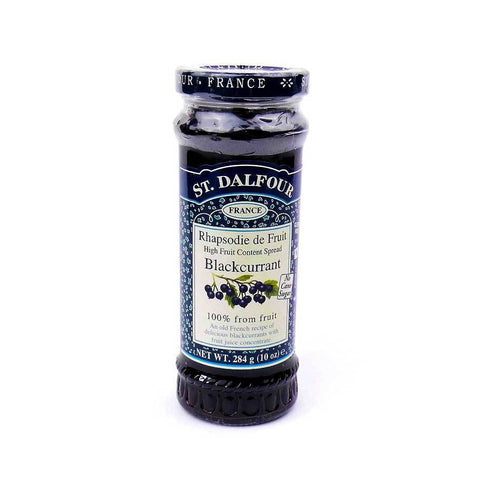 St. Dalfour Blackcurrant Preserve Spread - Sweet Victory Products Ltd