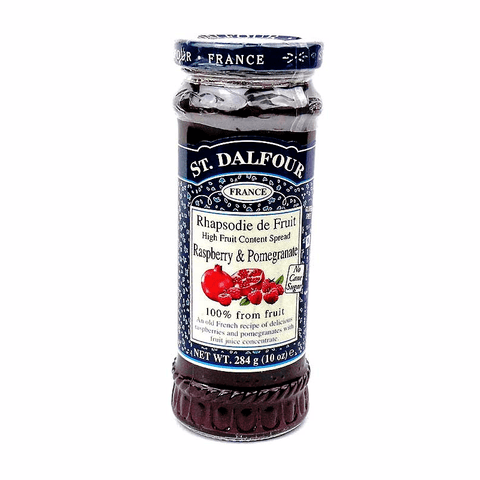 St. Dalfour Raspberry and Pomegranate Preserve - Sweet Victory Products Ltd
