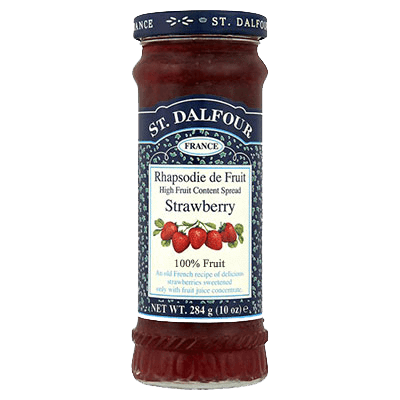 St. Dalfour Strawberry Preserve Spread - Sweet Victory Products Ltd