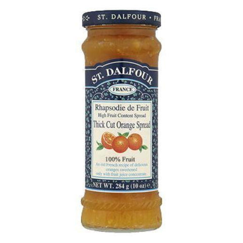 St. Dalfour Thick Cut Orange Jam Spread - Sweet Victory Products Ltd