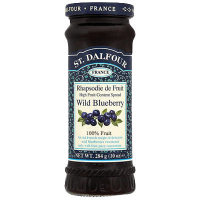 St. Dalfour Wild Blueberry Fruit Spread - Sweet Victory Products Ltd