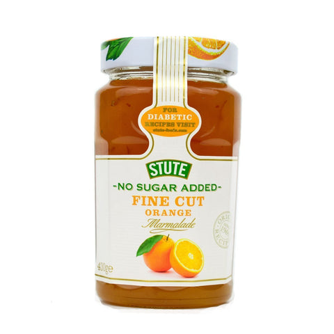 Stute No Sugar Added Fine Orange Marmalade 430g - Sweet Victory Products Ltd