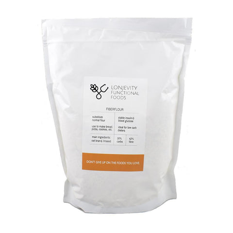 Lonjevity Functional Foods Low Carb Fiberflour 1kg - Sweet Victory Products Ltd