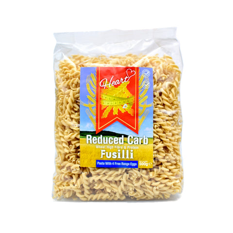 Heart Cafe Lower Carb Fusilli Pasta 500g - Sweet Victory Products Ltd
