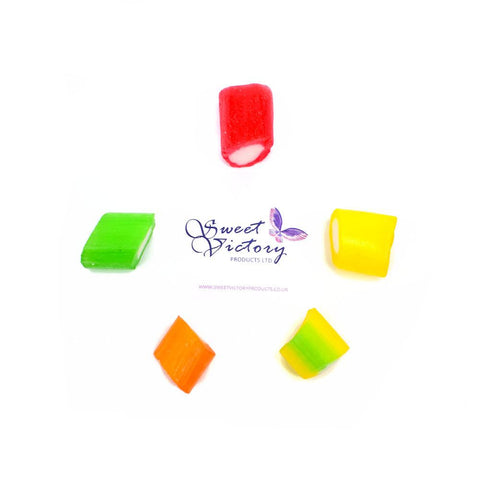 Monarch Sugar Free Colourful Fruit Rock Sweets 100g - Sweet Victory Products Ltd