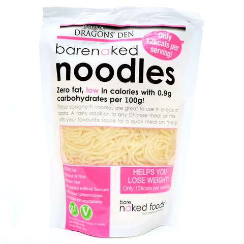 Barenaked Noodles - Gluten Free Pasta Alternative 250g - Sweet Victory Products Ltd