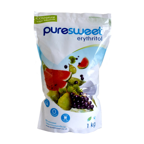 Puresweet Erythritol Sugar Substitute Sweetener 1kg - Sweet Victory Products Ltd