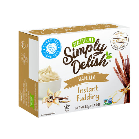 Simply delish Sugar Free Instant Pudding Mix Vanilla 44g