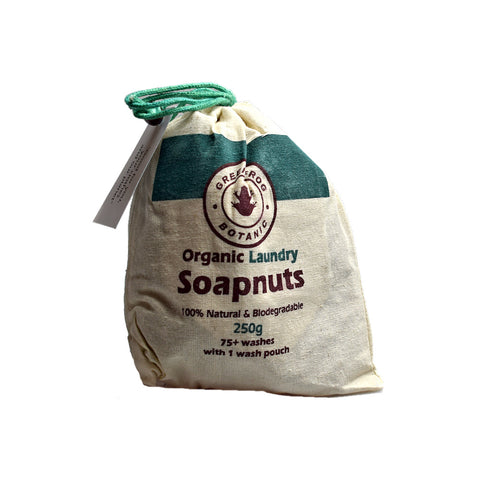 Green Frog Botanic Organic Laundry Soapnuts 250g - Sweet Victory Products Ltd