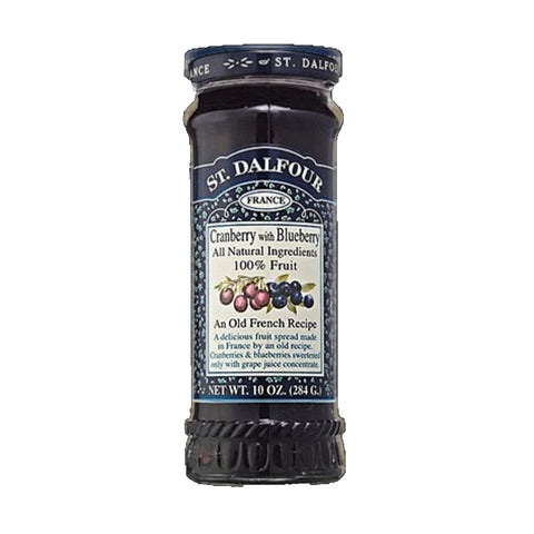 St. Dalfour Cranberry and Blueberry Fruit Spread - Sweet Victory Products Ltd
