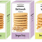 Sugar Free Farmhouse English Oat Crunch Biscuits 150g - Sweet Victory Products Ltd