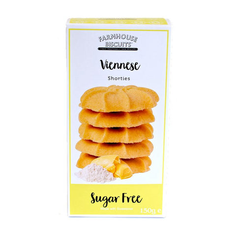 Sugar Free Farmhous Viennese Biscuits 150g - Sweet Victory Products Ltd