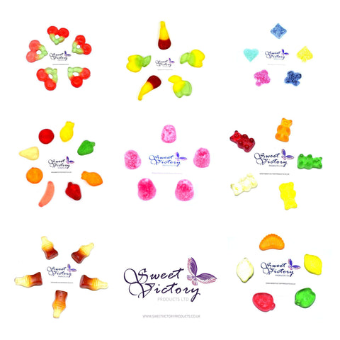Sugar Free Sweets Gummy Sweets Pick and Mix 100g - Sweet Victory Products Ltd