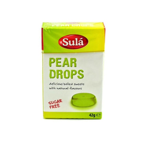 Sula Sugar Free pear drops sweets