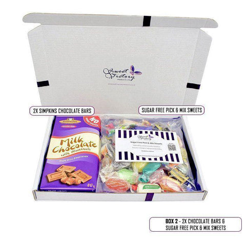 Sugar Free Sweets and Chocolate Selection Gift Box - Sweet Victory Products