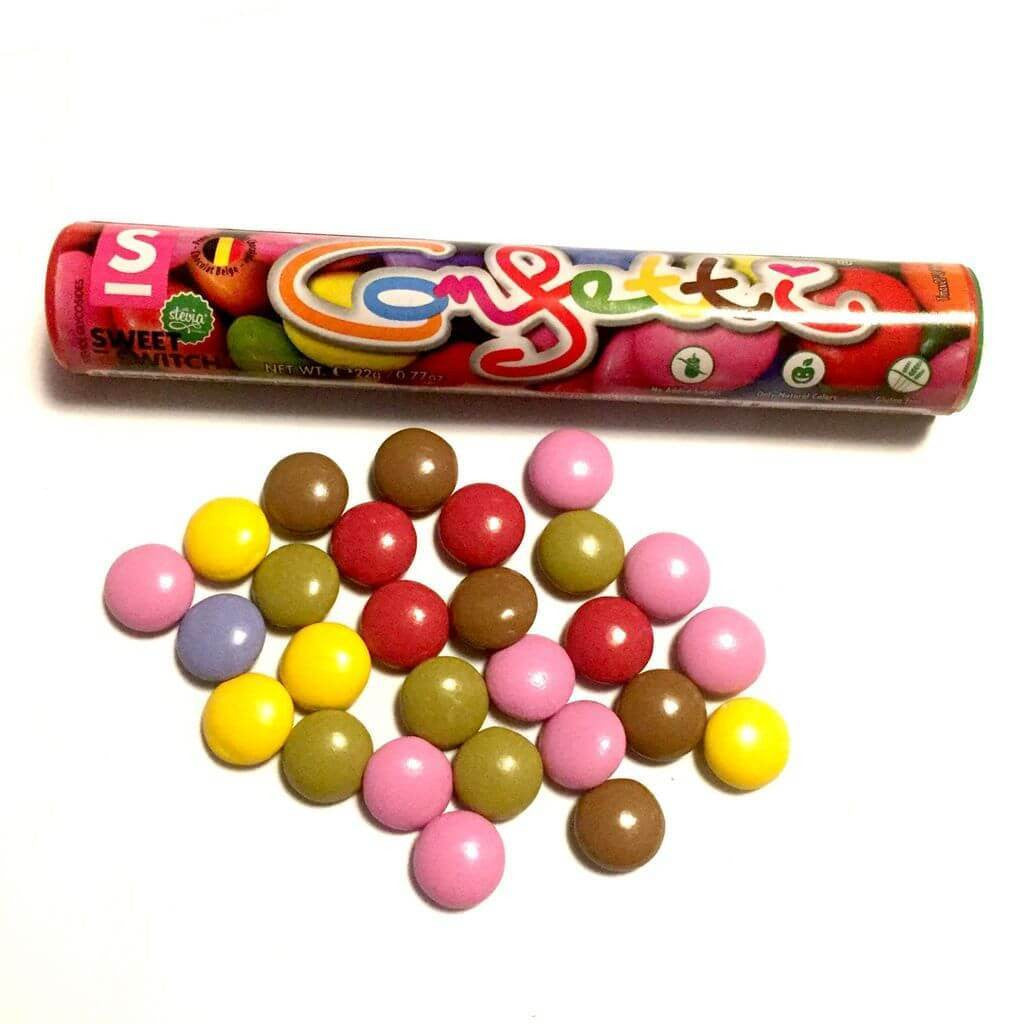 Sweet Switch No Added Sugar Chocolate Confetti 22g